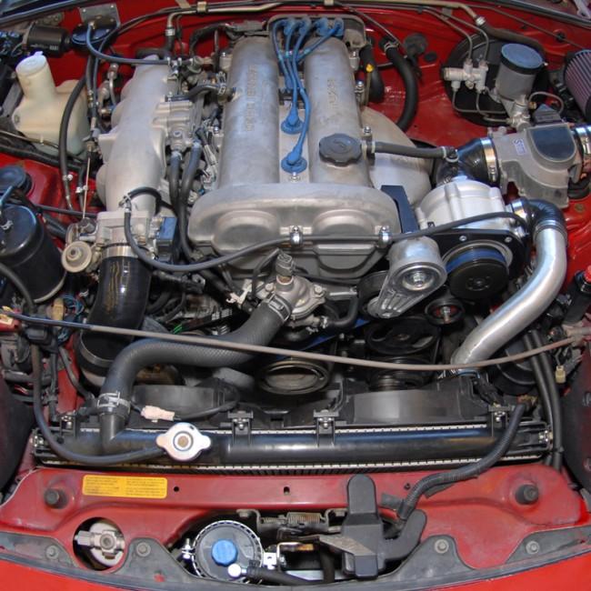Opel Supercharger Kits: Miata 1.8 99-05 Kompressorkit Kraftwerks