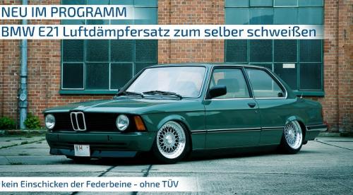 BMW 3-serie E21 1975 - 1984 Luftfjädring Fjäderbenskit TA Technix