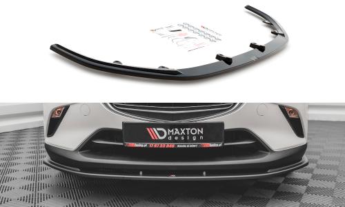 Mazda CX-3 15+ Front Splitter V.1 Maxton Design