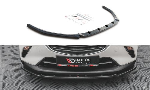 Mazda CX-3 15+ Front Splitter V.2 Maxton Design