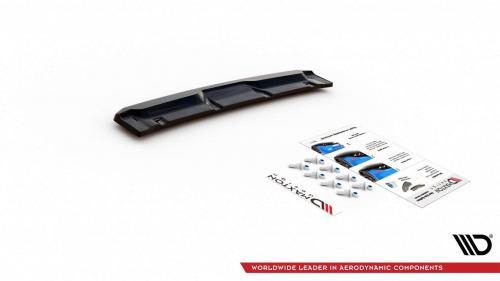 Mazda CX-3 15+ Central Rear Splitter V.1 Maxton Design