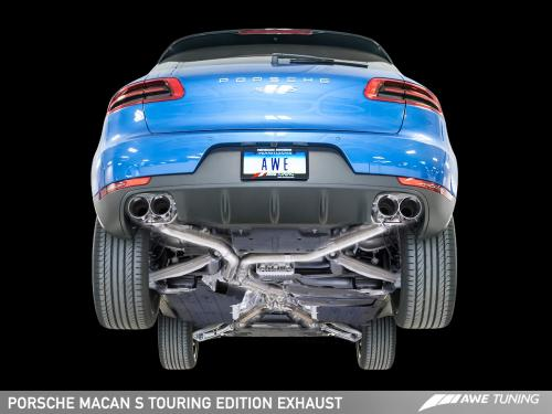 Porsche Macan S/GTS Touring Edition Avgassystem AWE Tuning
