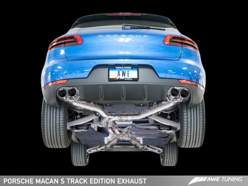 Porsche Macan S/GTS Track Edition Avgassystem AWE Tuning