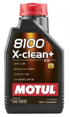 Motul 8100 X-Clean+ 5w-30 1 L