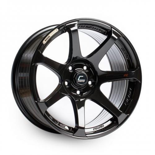 Cosmis Racing MR7 18x10 +25mm 5x114.3  Svart