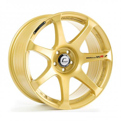 Cosmis Racing MR7 18x10 +25mm 5x114.3  Gold