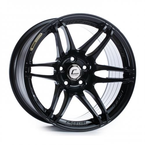 Cosmis Racing MRII 17x9 +10mm 5x114.3  Svart