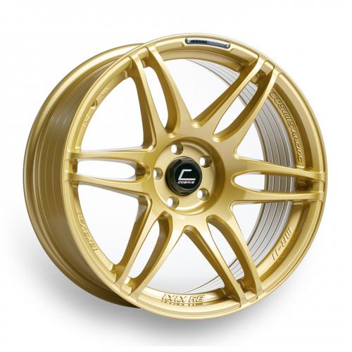 Cosmis Racing MRII 18x8.5 +22mm 5x100  Gold