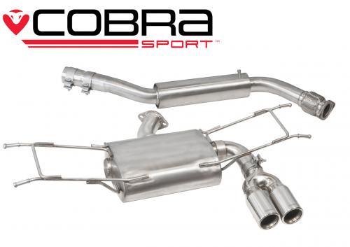 MX-5 Mk4 (ND) 1.5L & 2.0L (incl RF) 15- Catback (Ljuddämpat) Cobra Sport
