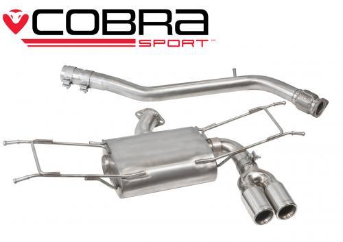 MX-5 Mk4 (ND) 1.5L & 2.0L (incl RF) 15- Catback (Ej Ljuddämpat) Cobra Sport