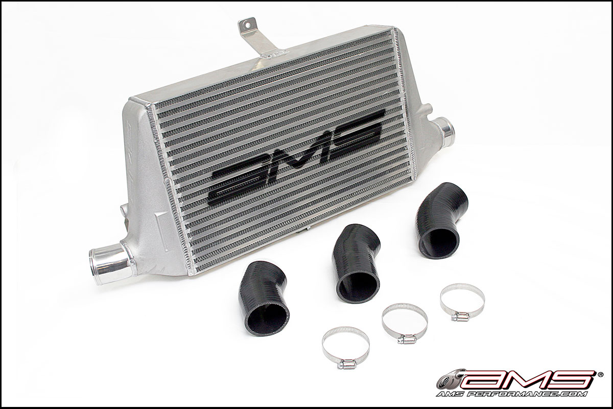 EVO 7-9 Front mount intercooler with logo AMS Performance