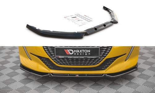 Peugot 208 19+ Frontsplitter V.1 Maxton Design