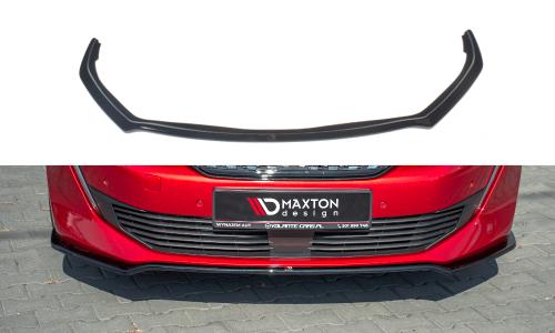 Peugeot 508 MK2 18+ Front Splitter V.1 Maxton Design