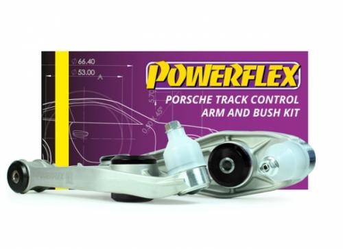 PF57K-1002BLK Främre Track Länkarmar & Bussningar Kit Black Series Powerflex