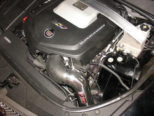 CTS-V Supercharged 6.2L 09-15 Polerat CAI Kalluftsintag Luftfilterkit Injen