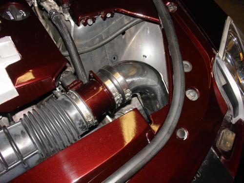CTS 3.6L V6 08-10 Polerat PowerFlowCAI Kalluftsintag Luftfilterkit Injen