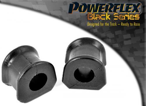 Capri Främre Krängningshämmarbussningar 24mm Svarta Black Series (Track) Powerflex