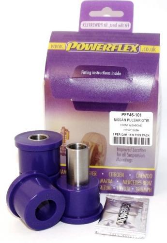 Sunny/Pulsar GTiR Främre Wishbone Främre Bussningar Lila Purple Series (Street) Powerflex