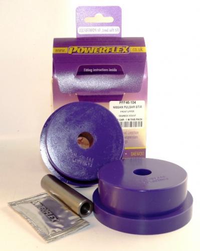 Sunny/Pulsar GTiR Motorfäste Kit Gearbox Övre Främre Lila Purple Series (Street) Powerflex