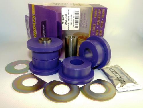 E32 7 Series (1988-1994) Främre Inre TCA Bussningar Lila Purple Series (Street) Powerflex