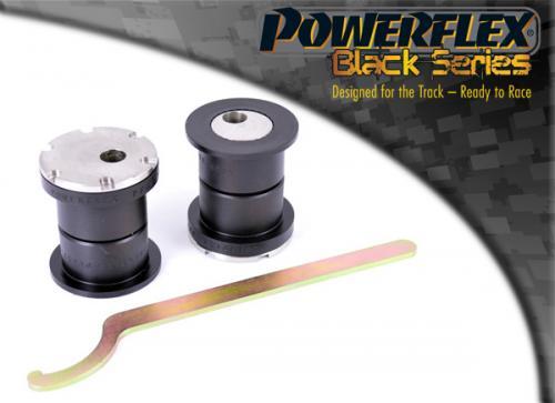 PFF57-801BLK Främre TCA Inre Bussningar, (Justerbar Camber) Black Series Powerflex