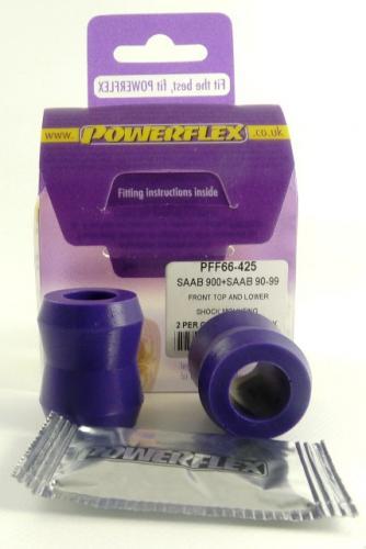90 & 99 (1975-1987) Stötdämpare Top Fäste Lila Purple Series (Street) Powerflex