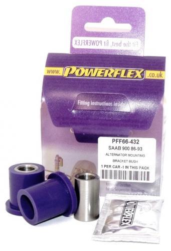 900 (1983-1993) Alternator Fäste Bracket Bussningar Lila Purple Series (Street) Powerflex