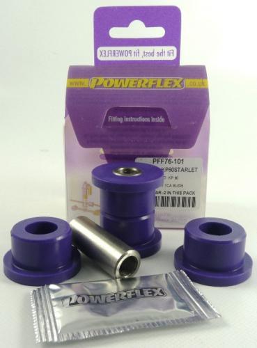 Starlet KP60 RWD Främre Inre Länkarm Bussningar Lila Purple Series (Street) Powerflex