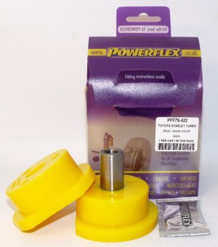 Starlet/Glanza Turbo EP82 & EP91 Främre Motorfäste Lila Purple Series (Street) Powerflex