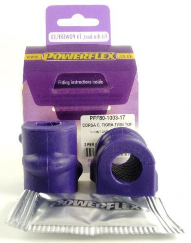 PFF80-1003-17 Powerflex Front Anti Roll Bar Bush 17mm