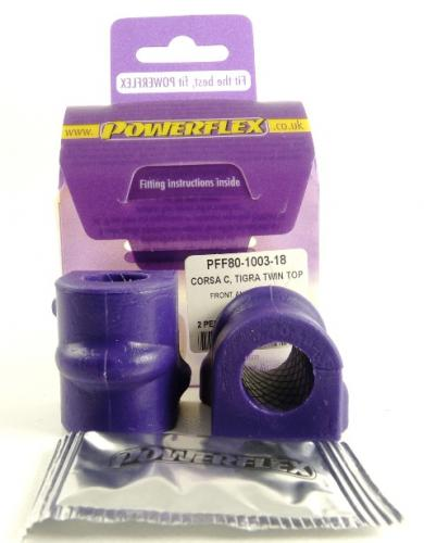 PFF80-1003-18 Powerflex Front Anti Roll Bar Mounting Bush 18mm