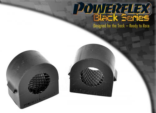 PFF80-1203-25BLK Powerflex Front Anti Roll Bar Mounting Bush 25mm (2 Piece) Black Series