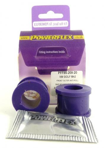 Toledo (1992 - 1999) Främre Krängningshämmarbussningar Eye Bolt Bussningar 20mm Powerflex