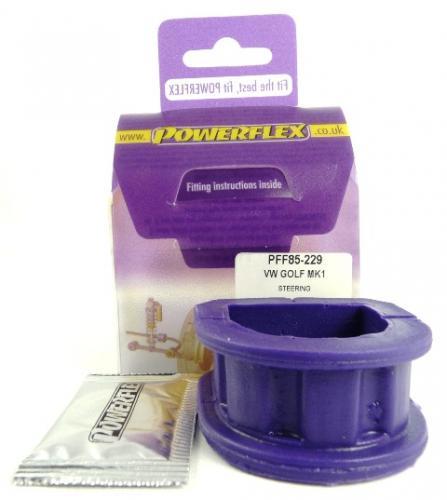 Scirocco (1973 - 1992) Steering Rack Mount Lila Purple Series (Street) Powerflex