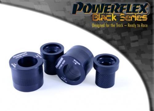 PFF85-602GBLK Främre Wishbone-bussningar Bakre Caster Offset  Black Series Powerflex