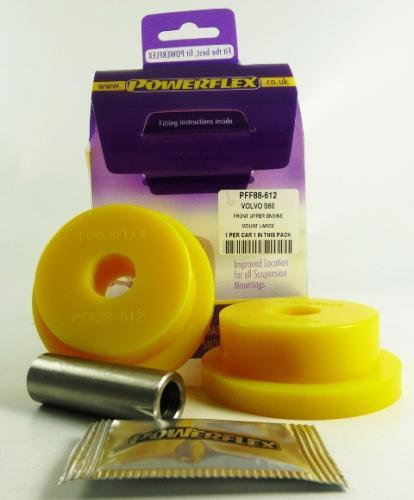 S60 01-10 / V70 Mk2 / S80 Mk1 00-07 Övre Motorfäste Stor Round Bussningar Petrol Powerflex