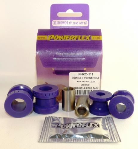 45 Bakre Krängningshämmarbussningar Link Kit Lila Purple Series (Street) Powerflex
