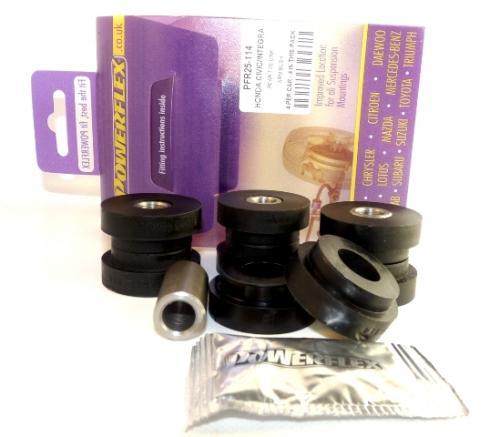 45 Bakre Toe-stag Arm Bussningar Lila Purple Series (Street) Powerflex