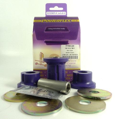 Scirocco (1973 - 1992) Bakre Subframe Bussningar Lila Purple Series (Street) Powerflex