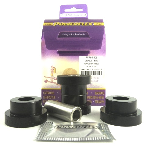 Tiguan 5N 07+ Bakre Nedre Fjäderinfästning Yttre Lila Purple Series (Street) Powerflex