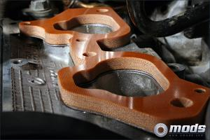 Impreza 02+ WRX / STI / Legacy / Forester Phenolic Thermal Spacer 8mm GrimmSpeed