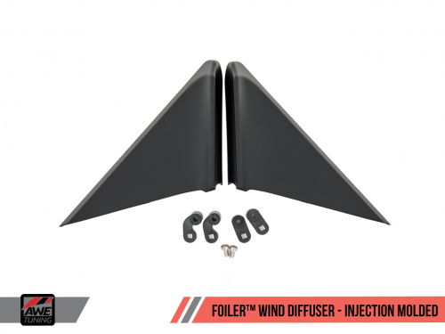 Foiler Wind Diffuser - Injection Molded AWE Tuning