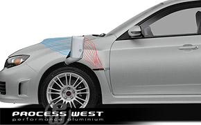 Subaru WRX 2008-2014 Process West Verticooler Top Mount Intercooler