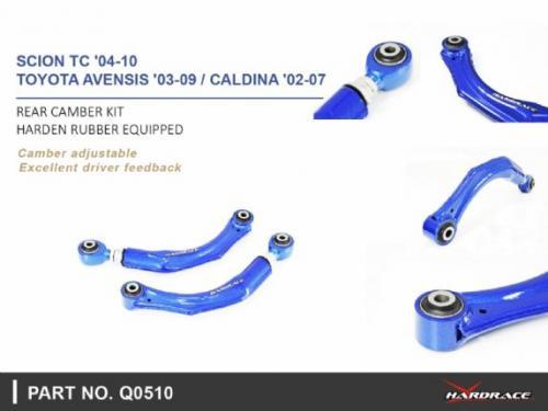 Scion TC 04-10 / Toyota Avensis 03-09 Bakre Camber-Stag (Förstärkt Gummibussning) -2Delar/Set Hardrace