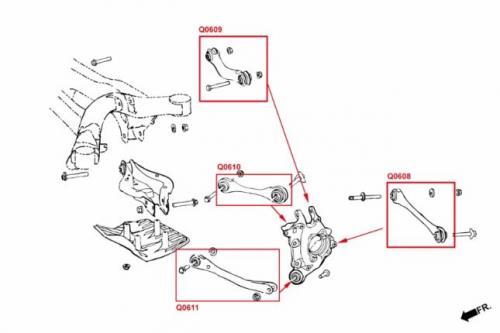 Toyota Supra A90 19- / BMW 3-Serie G2x 19- / Z4 G29 19- Bakre Camber-Stag (Pillowball) - 2Delar/Set Hardrace