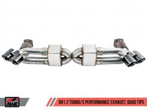 Porsche 991.2 Turbo Performance Avgassystem AWE Tuning