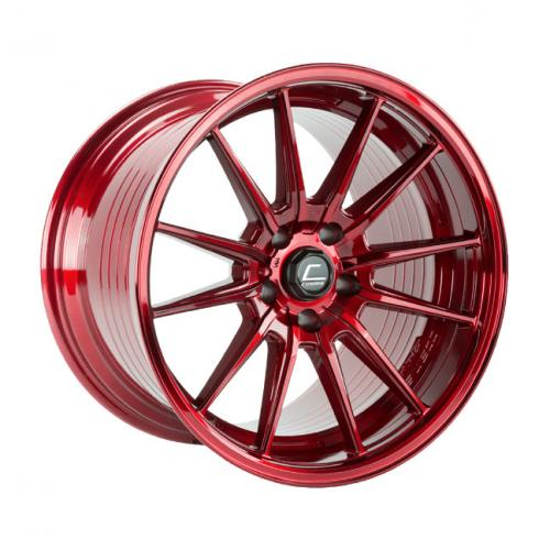 Cosmis Racing R1 18x12 +24mm 5x114.3 PRO Hyper Red