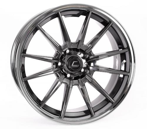 Cosmis Racing R1 18x10.5 +32mm 5x100  Pro Svart Chrome