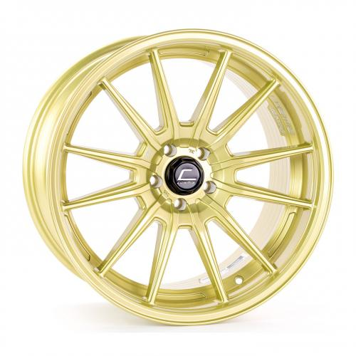 Cosmis Racing R1 18x10.5 +32mm 5x100  Pro Gold