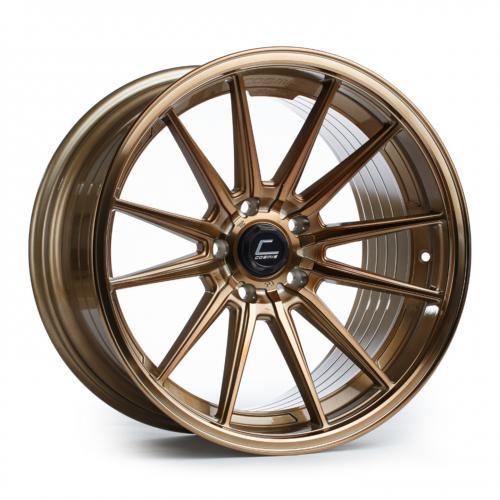 Cosmis Racing R1 18x10.5 +30mm 5x114.3  Hyper Brons